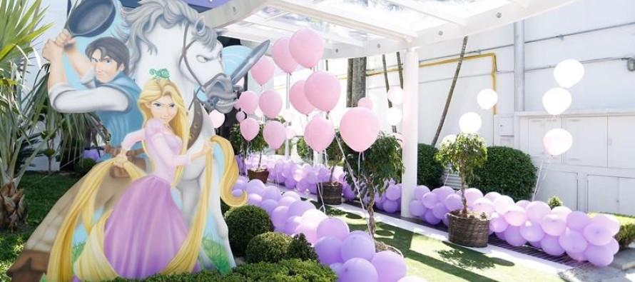 Decoracion de fiestas enrredados Rapunzel