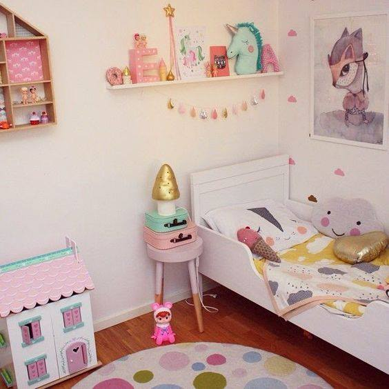 Decoracion de habitacion infantil para ni a 5 for Decoracion de la habitacion de nina rosa