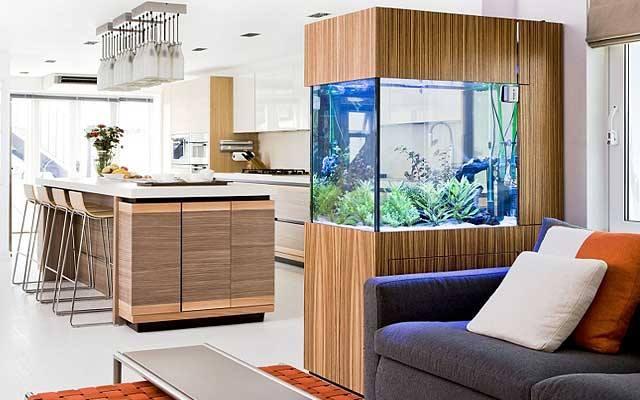 decoracion de interiores con peceras decoracion de