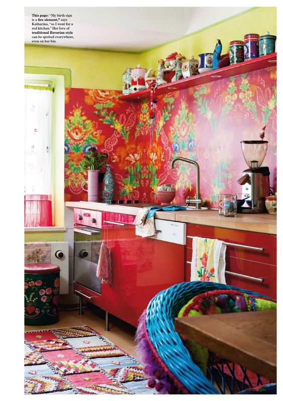 Decoracion hippie chic de cocinas 10 decoracion de for Decoracion casa hippie