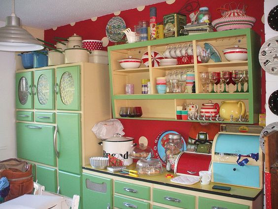 Decoracion hippie chic de cocinas 19 decoracion de for Muebles hippies