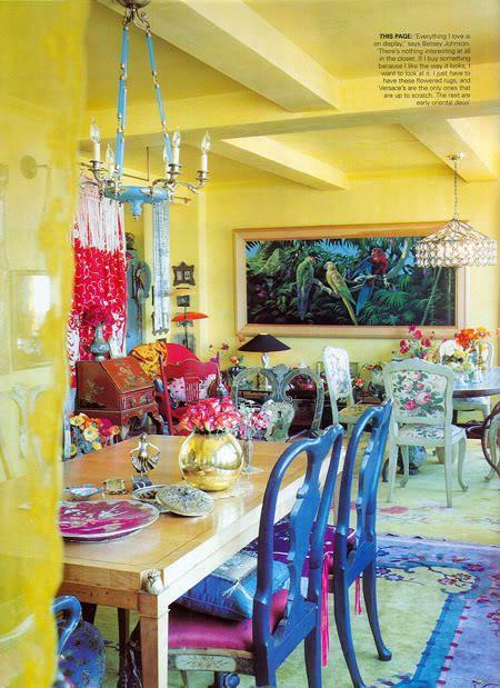 Decoracion hippie chic de cocinas 8 decoracion de - Decoracion hippie habitacion ...