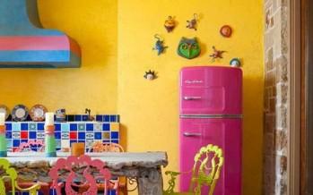 Decoracion hippie chic de cocinas