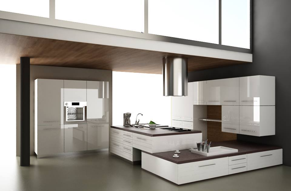 Diseño de cocinas modernas 2016-2017 (14) - Decoracion de interiores ...