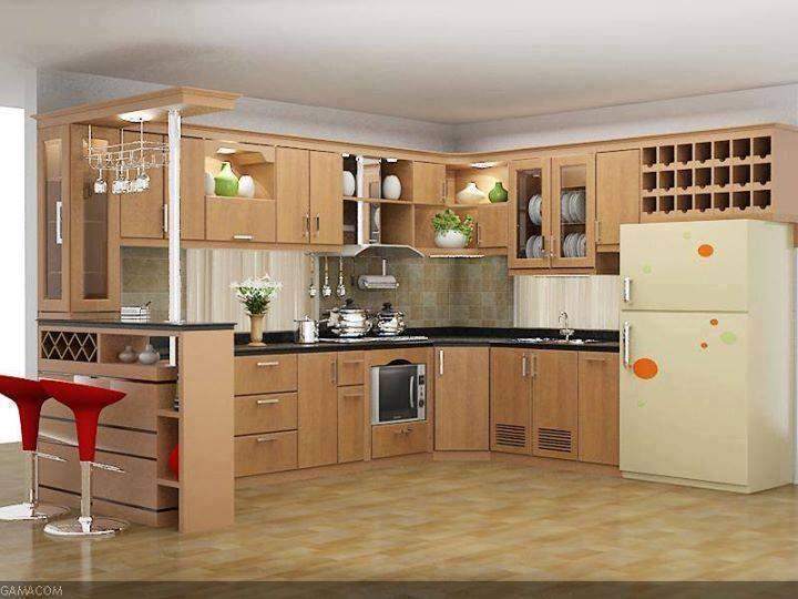 Dise o de cocinas modernas 2019 2020 3 como for Cocinas de madera modernas 2016