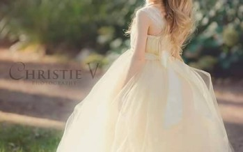 Diseños de vestidos elegantes para niñas