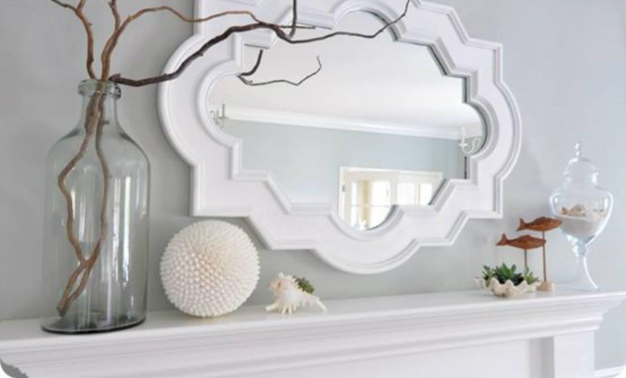 Formas de agregar espejos en tu decoracion 9 for Espejos decorativos con formas