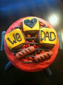 Ideas de pasteles para el día del padre (24)
