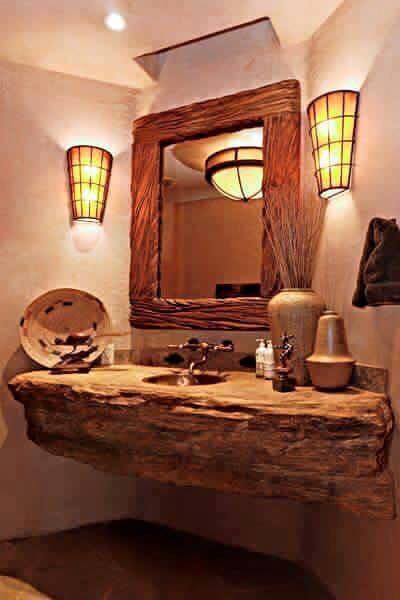 Ideas para decoracion rustica con madera 2 Decoracion de