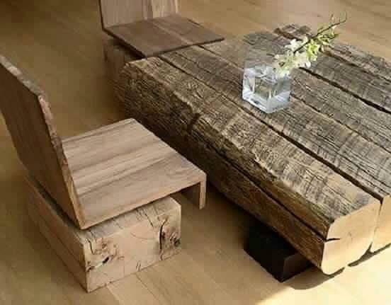 Ideas para decoracion rustica con madera 22 Decoracion de