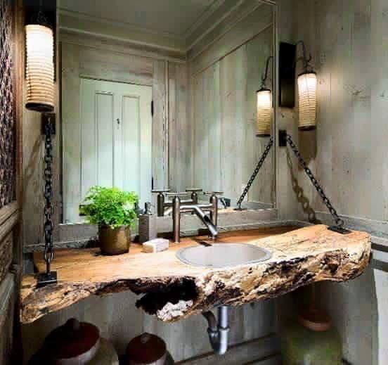 Ideas para decoracion rustica con madera 3 Decoracion de