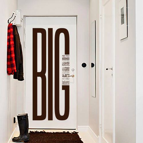 Ideas para decorar la puerta de tu habitacion 12 Decoracion de