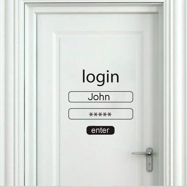 Ideas para decorar la puerta de tu habitacion 13 - Decorar cristales de puertas ...