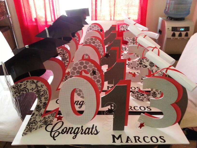 Ideas para graduaciones 1 decoracion de interiores - Ideas para organizar la casa ...