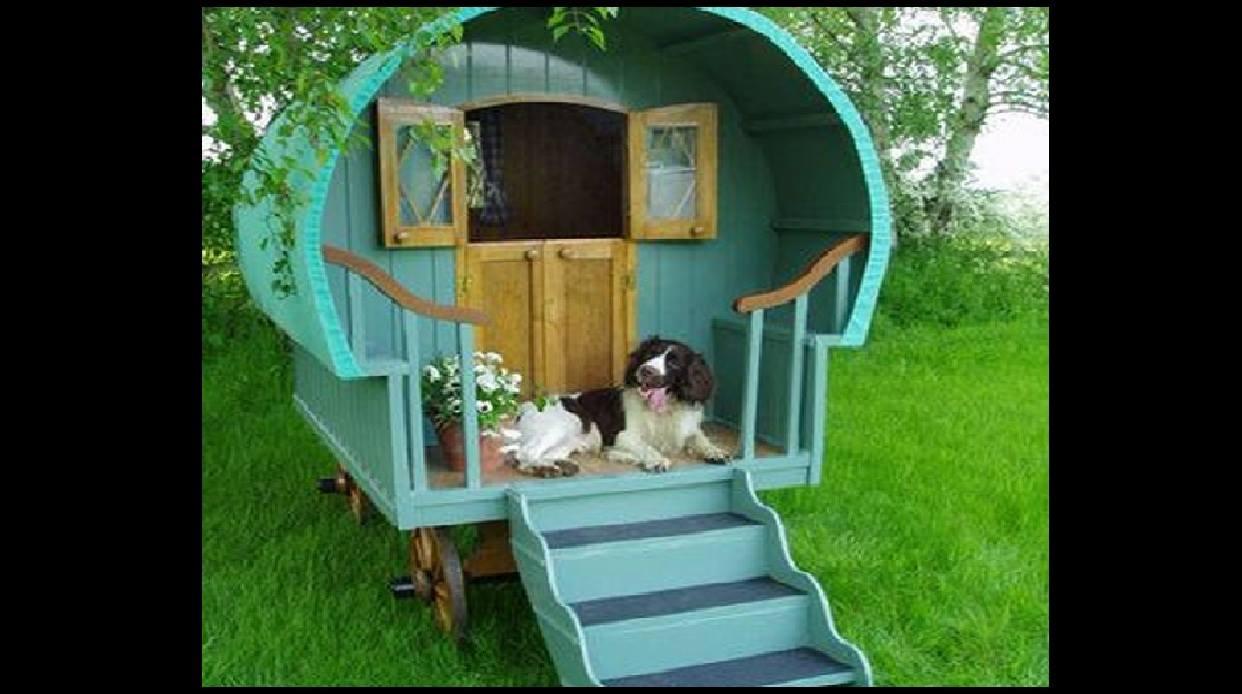 Ideas para hacerle casaa a tus mascotas 7 decoracion de interiores fachadas para casas como - Casas para perros pequenos ...