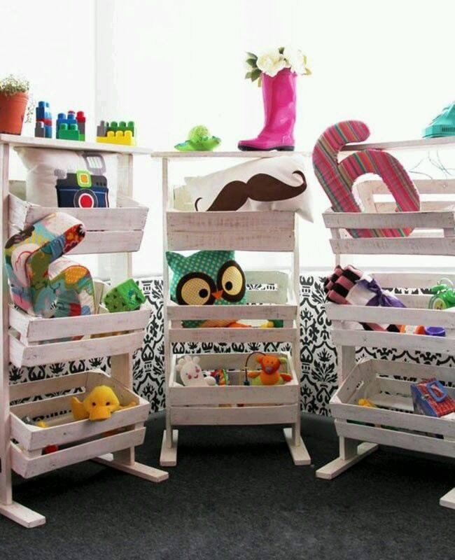 Ideas para organizar los juguetes de tus hijos 39 for Decoracion del hogar facil y economico