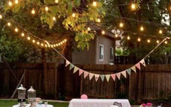 Ideas para organizar una fiesta en el jardin