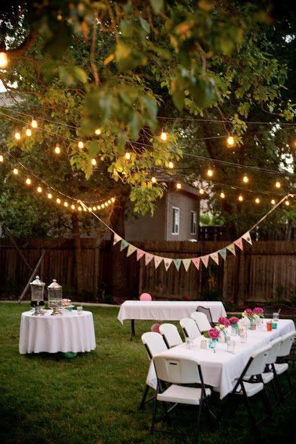 Ideas para organizar una fiesta en el jardin decoracion Como organizar mi jardin