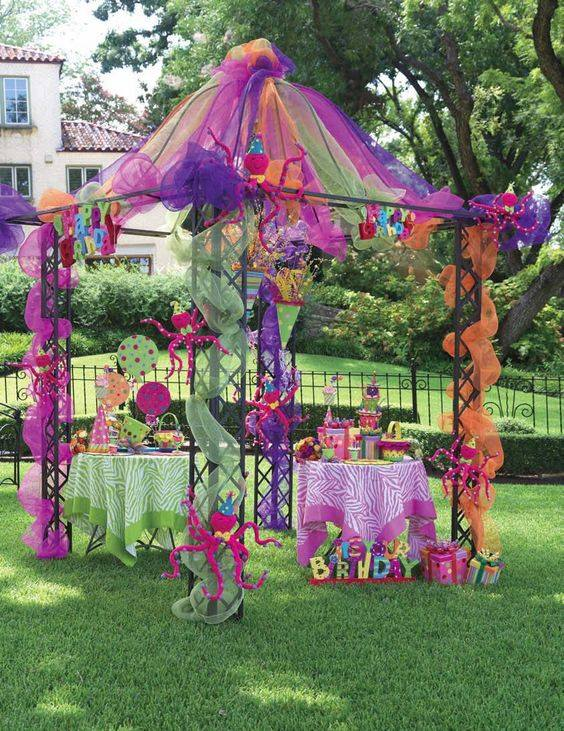 ideas para organizar una fiesta en el jardin with ideas para jardin