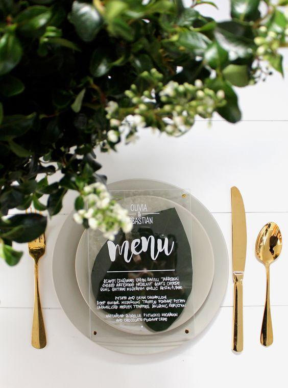 Ideas para presentar el menu en una boda (21)