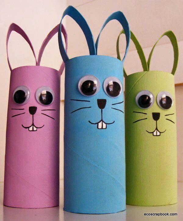 Ideas para reciclar el tubo de papel higienico 12 - Ideas para reciclar en casa ...