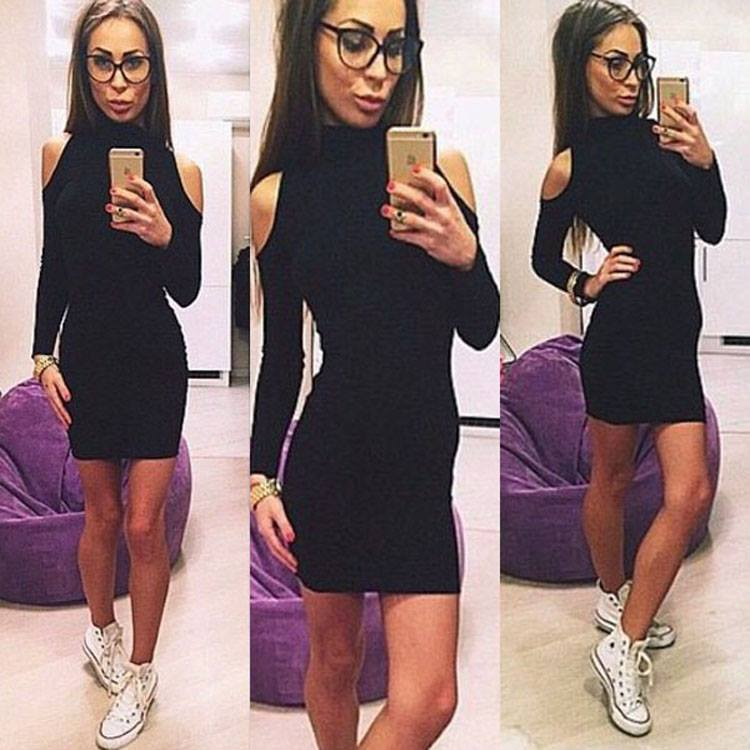 Increibles Outfits Con Vestidos Color Negro Como Organizar