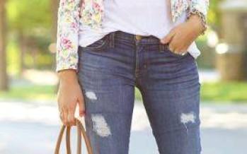Lleva jeans con mucho estilo