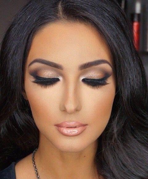Maquillaje para piel morena - Ojos ahumados para principiantes ...