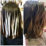 Mechas californianas en cabello corto (13)