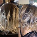 Mechas californianas en cabello corto (23)