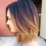 Mechas californianas en cabello corto (3)