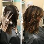 Mechas californianas en cabello corto (5)
