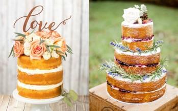 Naked cake la tendencia en pasteles para tus eventos