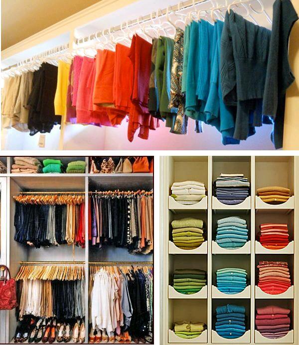 Open Closet Excelente Idea Para Organizar En Espacios