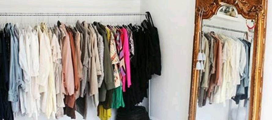 Open closet excelente idea para organizar en espacios for Closet pequenos para ninos