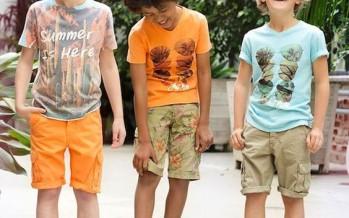 Outfits de verano para niños