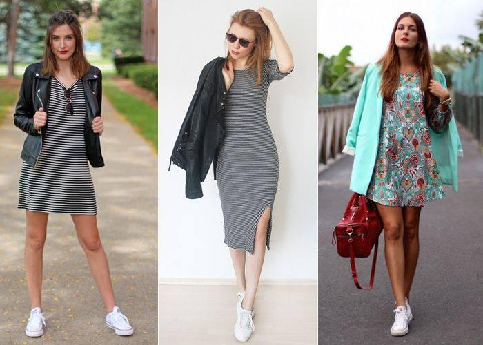 Outfits De Vestidos Con Tenis 6 Como Organizar La Casa