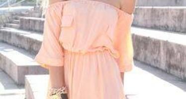 Outfits en tono melon