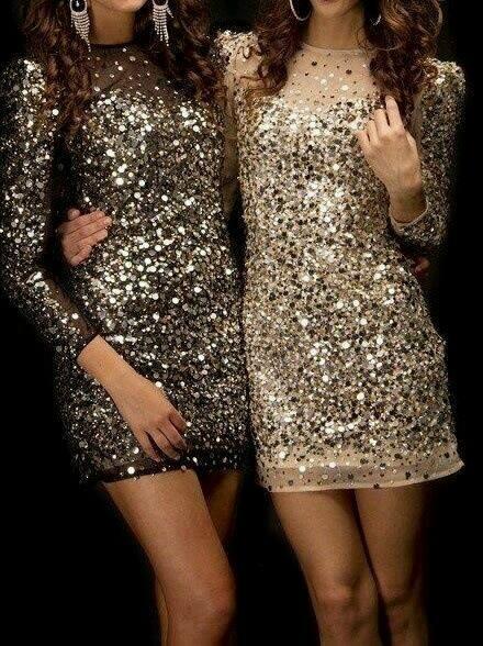 Outfits Glitter Para Ir Al Antro O De Fiesta 1 Como