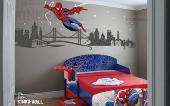 Paso a paso para decorar una habitacion infantil de spiderman