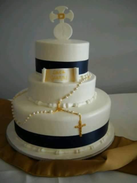 pasteles de primera comunion