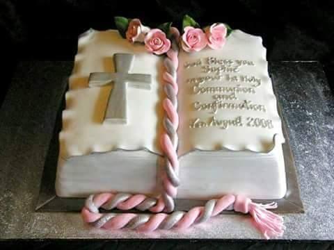 pasteles de la primera comunion