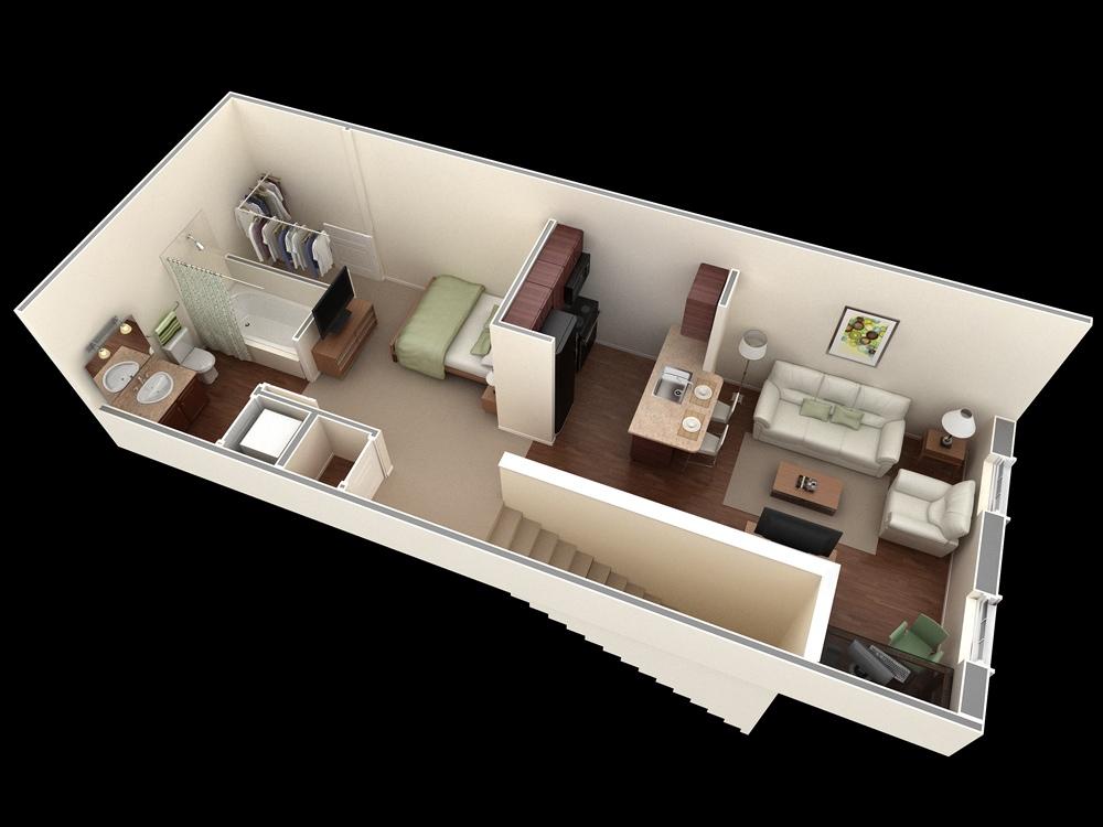 decoraci n de casas peque as estilo infonavit fotos e ideas. Black Bedroom Furniture Sets. Home Design Ideas