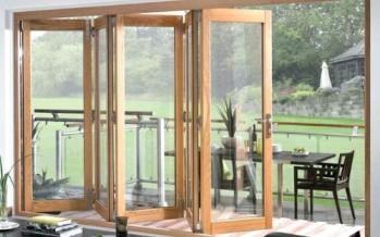 Puertas de cristal para el area del jardin
