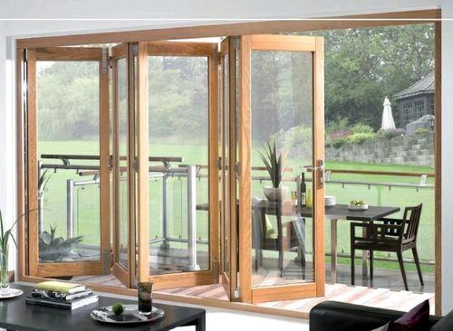 Puertas de cristal para el area del jardin decoracion de for Puertas de cristal para casa