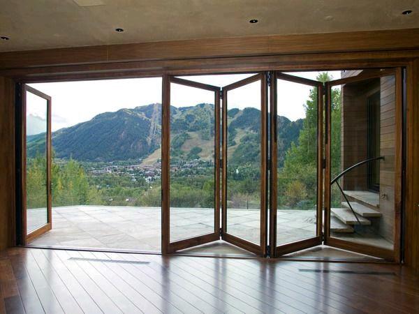 Puertas de cristal para el area del jardin 15 - Puertas para jardin ...