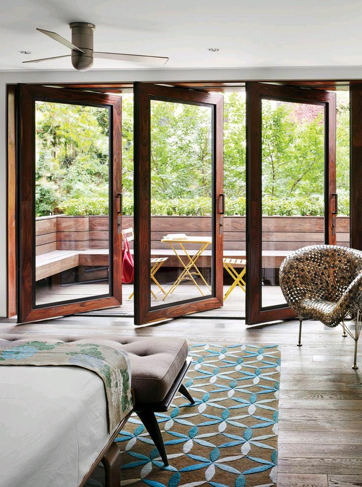 Puertas de cristal para el area del jardin 5 for Puertas cristal interior casa