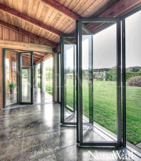 Puertas De Cristal Para El Area Del Jardin 8 Como