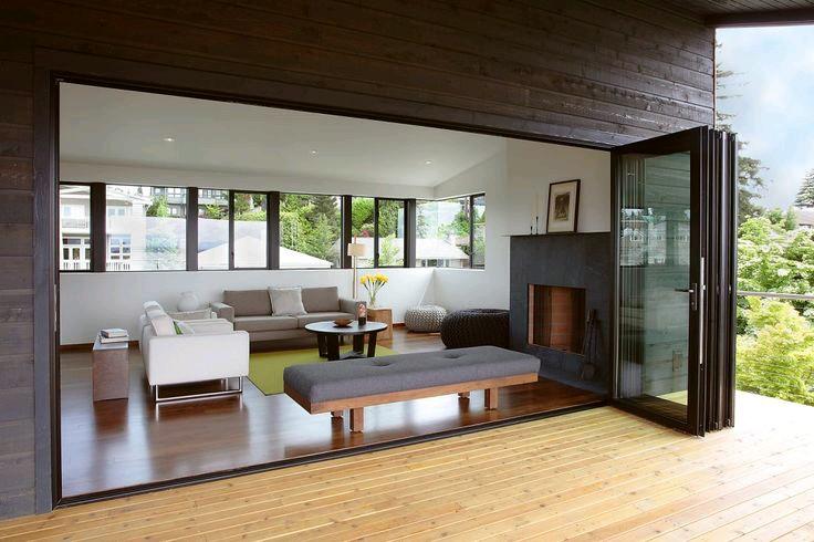 Puertas de cristal para el area del jardin 9 decoracion de interiores fachadas para casas - Decoracion en cristal interiores ...
