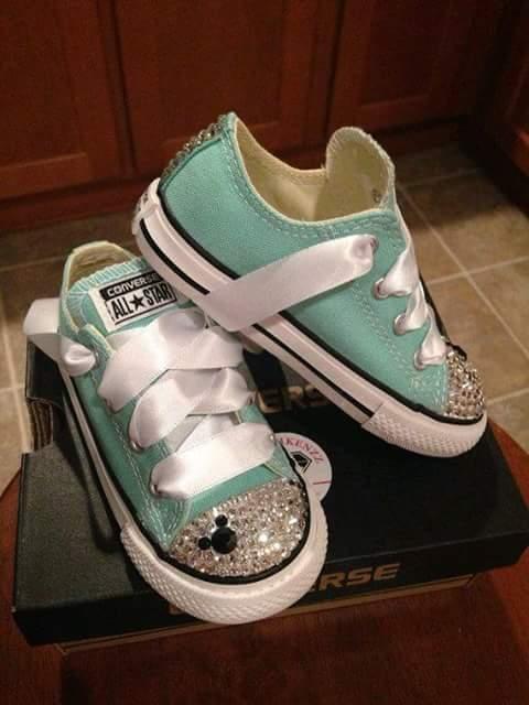 6859d0311 zapatos converse niñas decorados